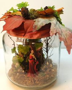Enchanting Fairy Jar ~ Captured Faerie in a Jar ~ Fairy Gift ~ by Fernwood and Vine on Etsy