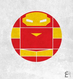 Circle Constructed Superheros | #IronMan