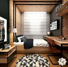 60 ideas music studio room design bookshelves for 2019 Studio Room Design, Home Room Design, Small Room Design, Home Office Design, Home Interior Design, Small Bedroom Designs, Bedroom Bed Design, Modern Bedroom Design, Small Room Bedroom