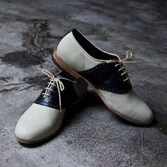 Cute!  Women's Vintage Saddle Oxfords