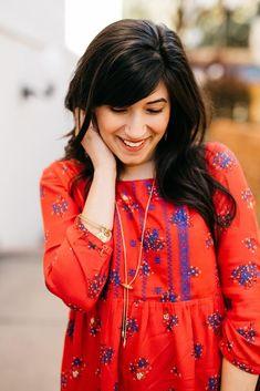 Outfit of the Week - Little Red Dress // Party of Sarah -- #style #fashion