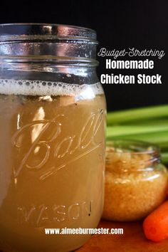 Homemade chicken stock is easy to make and it's great for stretching your budget. Chicken stock is also great for providing a nutritional punch that can help boost your immune system.