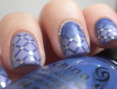 the nail polish challenge: China Glaze Avant Garden Nail Art