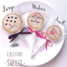 3 beautiful sizes to customized your Lollituki Lollipops!