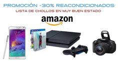 Promoción Reacondicionados al 30% descuento en Amazon   Soydechollos.com