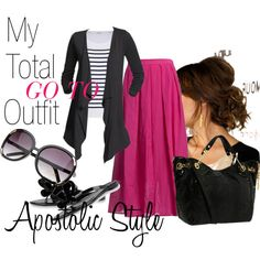 My Total Go To Outfit;Apostolic Style