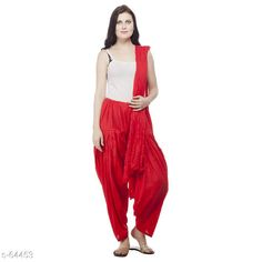 Ethnic Bottomwear - Patiala Pants Trendy Cotton Patiala & Dupatta Set Fabric: Patiala - Cotton Dupatta - Cotton Waist Size: Patiala - Up to 28 in to 40 in (Free Size) Dupatta - 2.25 Mtr Length: Patiala - Up To 41 in Type: Stitched Description: It Has 1 Piece Of Patiala & 1 Piece Of Dupatta Pattern: Solid Country of Origin: India Sizes Available: Free Size   Catalog Rating: ★4 (359)  Catalog Name: Frenzy of Patiala-2 CatalogID_6578 C74-SC1018 Code: 563-64453-9401