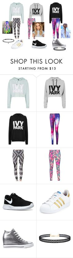 """""""3/3"""" by ameliezzz on Polyvore featuring Topshop, adidas Originals, NIKE, adidas, Converse, LULUS and BERRICLE"""