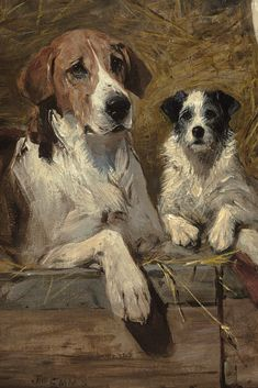 Browse our extraordinary fine art collection including rare old masters, impressionist and other art pieces. Art Paintings For Sale, Old Paintings, Dog Artwork, Cow Painting, Watercolor Canvas, The Fox And The Hound, Antique Paint, Old Dogs, Queen Victoria