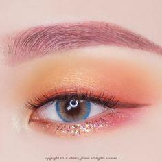 ᴛʀᴏᴘɪᴄᴀʟ ᴍᴀᴋᴇᴜᴘ - Tropical makeup using Lime Crime& recent launch Plushies palette! Korean Makeup Tips, Korean Makeup Look, Asian Makeup, Blue Eye Makeup, Lime Crime Makeup, Makeup Goals, Makeup Inspo, Makeup Inspiration, Beauty Makeup