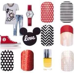 Disney here we come...Jamberry has the designs to send you to the happiest place on earth in style!