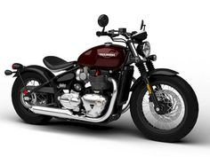 Triumph Bonneville Bobber 2017 Model in Motorcycle Retro Motorcycle, Scrambler Motorcycle, Motorcycle Garage, Motorcycle Style, Motorcycle Design, Bike Design, Triumph Bonneville Bobber 2017, Bonneville Cafe Racer, New Motorcycles