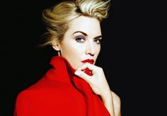 Can Kate Winslet be any more gorgeous?! Love this actress and her fierce makeup look here!!...:)
