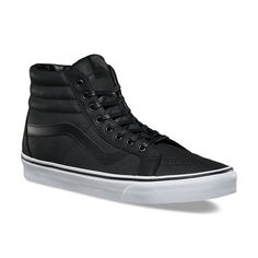 c86fcd1c62a Vans PREMIUM LEATHER SK8-HI REISSUE - Black