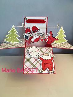 Santa's suit - Stampin Up 2017
