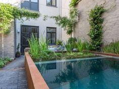 Natural Swimming Pools, Natural Pools, Beach Entry Pool, Pool Landscaping, Backyard Pools, Pool Decks, Farm Pond, Luxury Pools, Small Pools