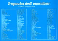 Fragancias #Masculinas