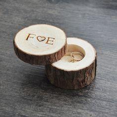 Custom Ring Box wedding/valentines wooden ring box Wood Anniversary Ring Box 4 styles