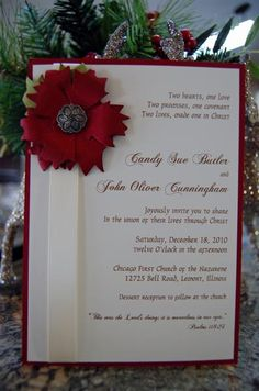 Christmas Wedding by hopeful1 - Cards and Paper Crafts at Splitcoaststampers