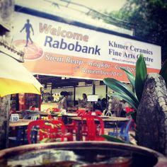 Welcome rabobank for Social Enterprise, Siem Reap, Angkor, Ceramic Art, Cambodia, Centre, Pottery, Ceramics, Fine Art