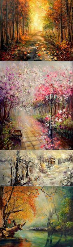 Творчество болгарской художницы Йовка Мечкарова
