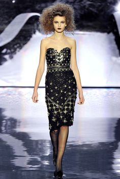 Badgley Mischka Fall 2012 Ready-to-Wear Fashion Show - Kristina Romanova