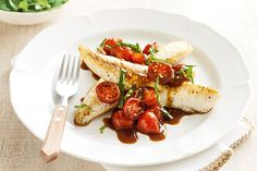 This light and tasty fish dish is ready in a flash. Serve with rice or potatoes for a more filling meal.