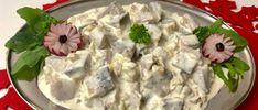 Śledzie po tatarsku - Blog z apetytem Appetisers, Seafood Dishes, Potato Salad, Potatoes, Snacks, Meat, Chicken, Ethnic Recipes, Desserts