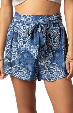 SP0011 Shorts Beach Summer Hippies Boho Fashion Chic Clothing Bohemian Boxers Short Pants Unique
