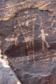 :Giants, Petroglyphs at Rock Art Ranch.jpg - reminds one of the epic film Koyanasquatsi