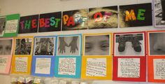 Welcome to First Grade Room 5: The Best Part of Me