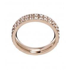 Edblad Ring Glow Double Rosé