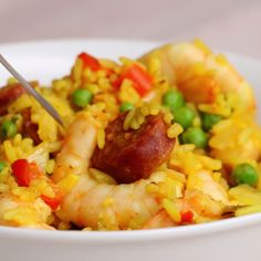 One-Pan Spicy Prawns and Rice