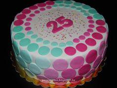 Színes körök / geometry cake