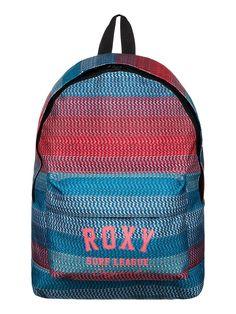 Sugar Baby Girl - ROXY Rucksack für Mädchen Dieser bedruckte Roxy Rucksack für Mädchen aus reinem Polyester mit einem Hauptfach ist die perfekte Ergänzung zur Accessoires-Kollektion für den Winter 2014. Außerdem verfügt er über eine Vordertasche.  Merkmale: Rucksack , Reiner Polyesterstoff , 1 Hauptfach , Front-Tasche , Herzförmige Roxy Stickerei oder Siebdruck auf Tasche vorne  Dieses Produkt ...