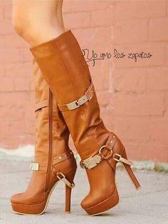 Cammel tall boots