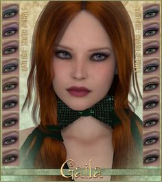 SASE Gaila for V4 and Genesis | Characters for Daz Studio and Poser