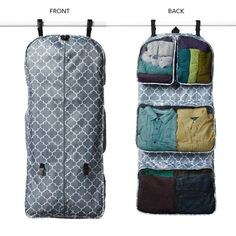 Garment Travel Organizer