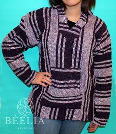 Vintage Hoodie Mexican Sweater por Beeliaboutique en Etsy