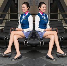 【China】 China Southern Airlines cabin crew / 中国南方航空 客室乗務員 【中国】 China Southern Airlines, Airline Cabin Crew, Flight Attendant, Like4like, China China, Cute, Hair, Beauty, Instagram