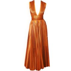 satinee.polyvore.com - Givenchy 2014 ❤ liked on Polyvore featuring dresses, gowns, satinee, long dress, orange, givenchy, orange gown, long dresses, givenchy dress and givenchy gowns