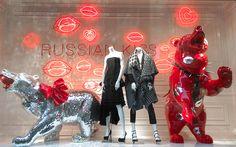 "Check out my @Behance project: ""FW14 DLT store windows ""Russian kiss"""" https://www.behance.net/gallery/29222787/FW14-DLT-store-windows-Russian-kiss"