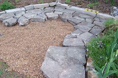 Ideas Broken Concrete Patio Backyards For 2019 Stamped Concrete Patio Cost, Cement Patio, Concrete Garden, Outdoor Patio Shades, Small Outdoor Patios, Outdoor Gardens, Outdoor Living, Outdoor Decor, Broken Concrete