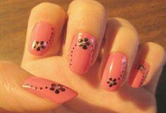 Imágenes uñas con flores paso a paso | Solountip.com