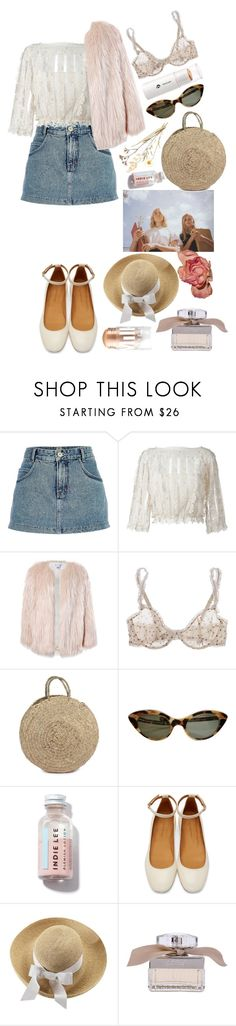 """""""spring fling"""" by rsussher ❤ liked on Polyvore featuring River Island, RED Valentino, Sans Souci, STELLA McCARTNEY, Bohemia, Isabel Marant, Helen Kaminski, Chloé and MILK MAKEUP"""