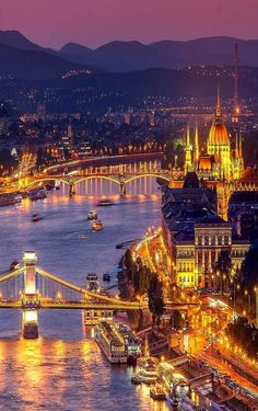 Budapest Hungary - Welcome Beautiful Places To Visit, Cool Places To Visit, Wonderful Places, Places To Go, Places Around The World, Around The Worlds, Hungary Travel, Budapest Travel, Tourist Places