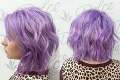 Hair Color How To: Lovely Lilac by Melissa Emerick (Final Look)