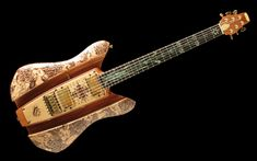 Absolutely the most amazing guitar I've seen.. // RKS Kama Sutra guitar