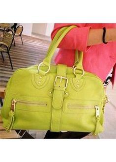 Fashion Luxurious Single shoulder Bag in cyan