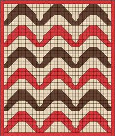 The Alicante quilt design is based on some floor tiles I saw on my recent trip to Alicante - waves giving the illusion of a rippled surface.
